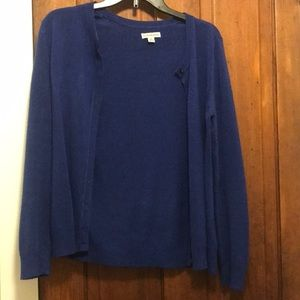 Croft and Barrow Purple/Blue Sweater